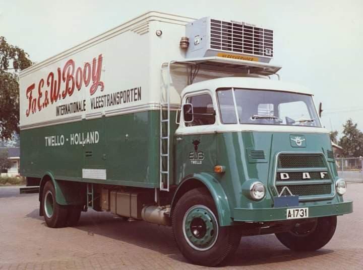 DAF-Kikker-koelwagen