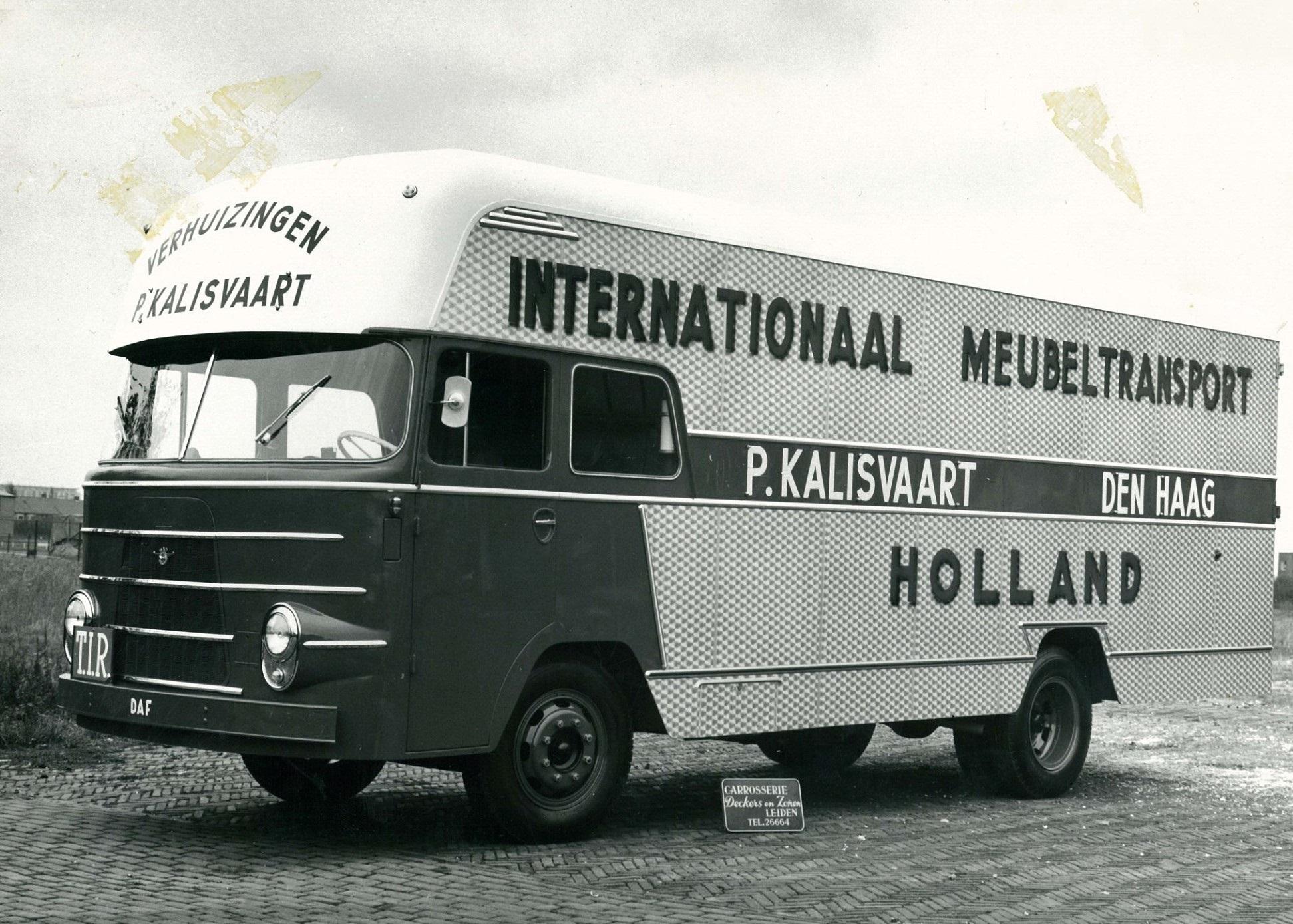 DAF-verhuis-wagen