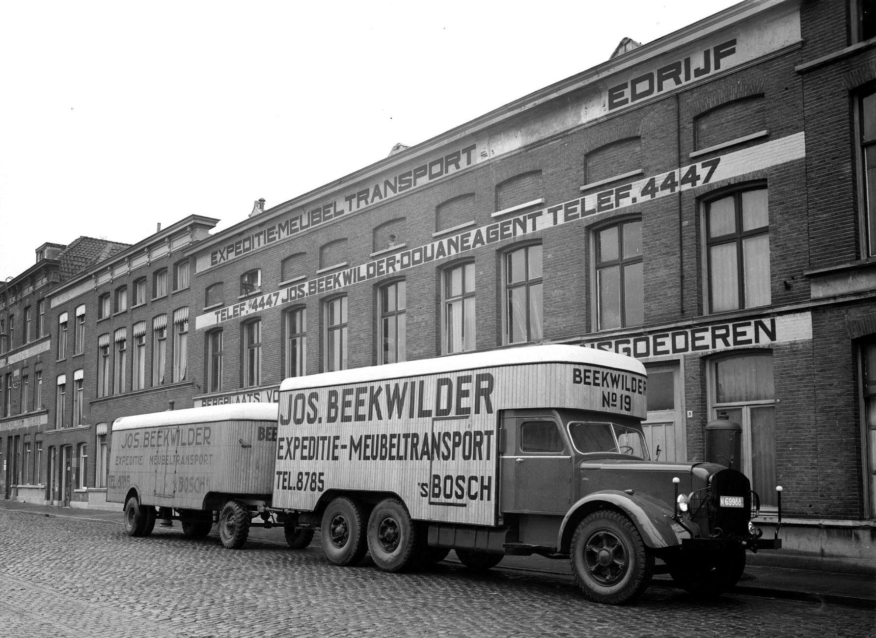1949-s-Hertogenbosch-Handelskade-Beekwilder-Expeditie-en-Meubeltransport