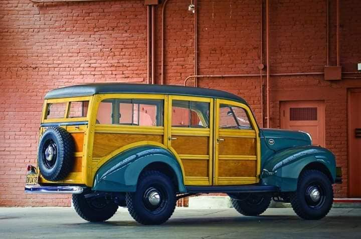 1940-Marmon-Herrington-4X4-Ford-Woody--V8-Flathead--1