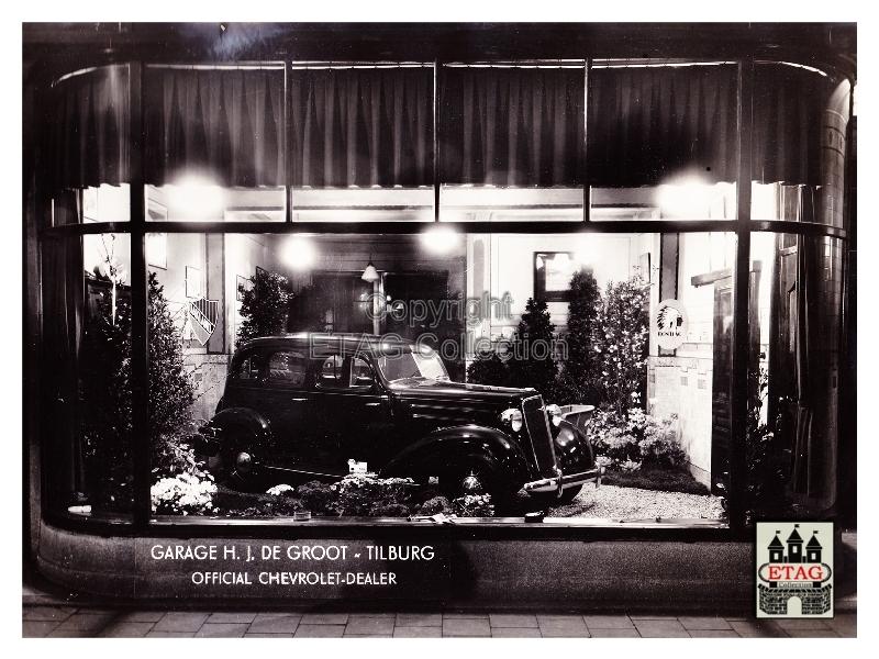 1935-Showroom-Stationstraat-10-12-Tilburg-Chevrolet-