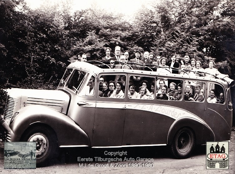 1946-Unic-Bus-Coach-trip-Lourdes-Franc-2