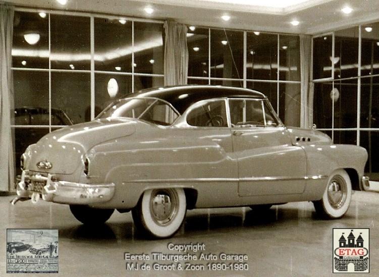 1949-Showroom-Spoorlaan-120-Tilburg-2-Buick-Coupe