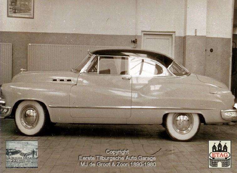 1949-Showroom-Spoorlaan-120-Tilburg-3-Buick-Coupe-
