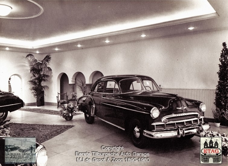 1949-Showroom-Spoorlaan-120-Tilburg-3-Chevrolet