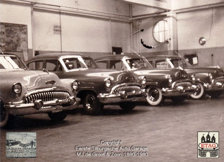 1950-Werkplaats-Spoorlaan-120-Tilburg-2-Buick-