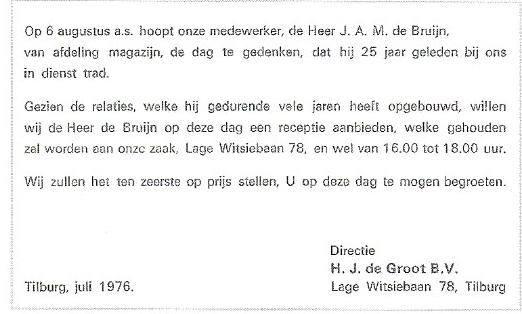 1976-Jan-de-Bruijn-is-25-jaar-in-dienst.is-begonnen-in-de-Poststraat-te-Tilburg