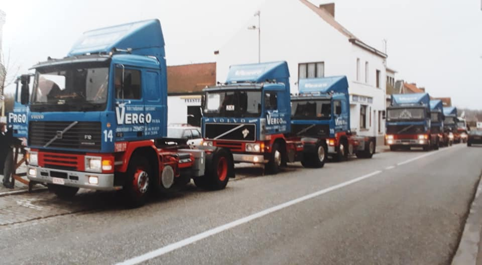 Volvo--1991-Trouwstoet--huwelijk-collega