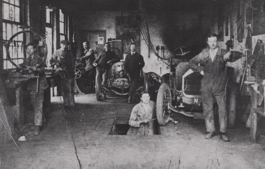 Ford-werkplaats-