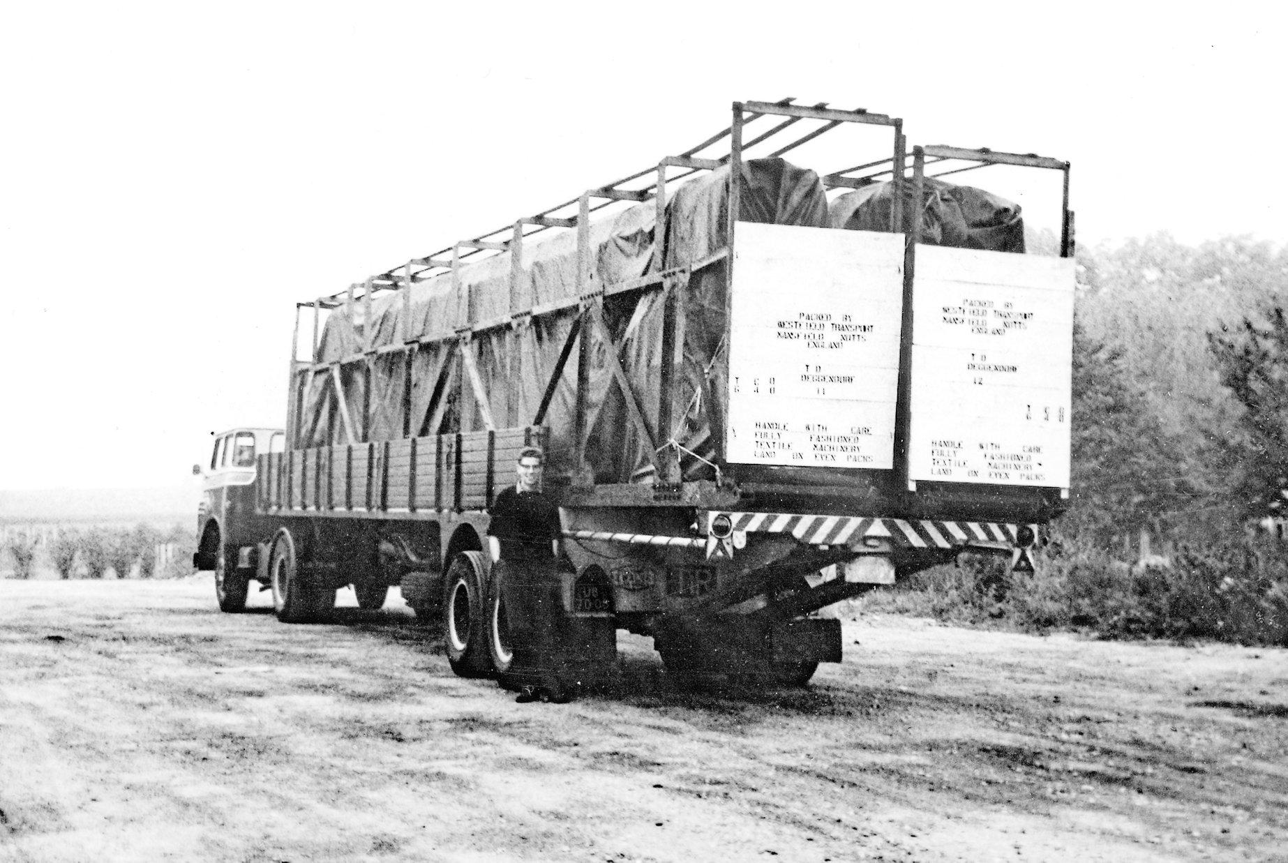 Chauffeur-Gerard-Al-jaren-50