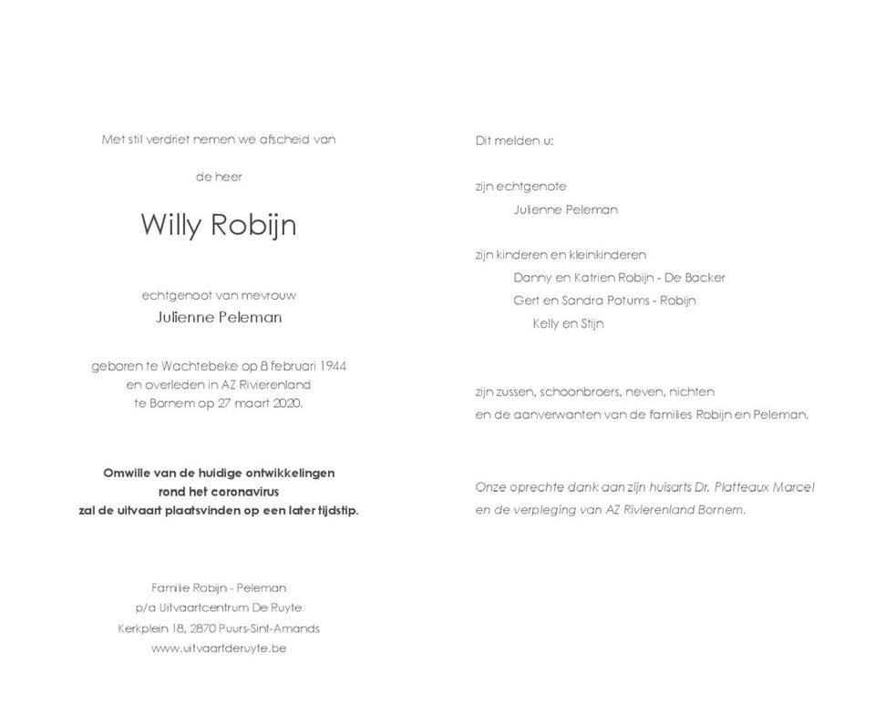 Willy-Robijn