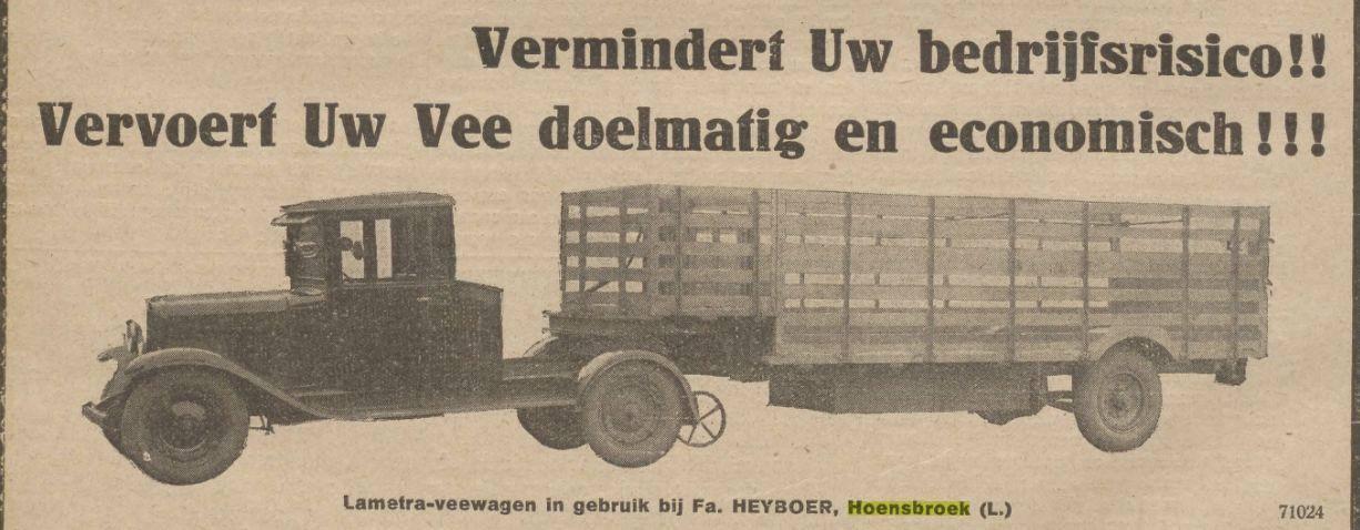 Vervoer-uw-vee-via-Heyboer-te-Hoensbroek-1929