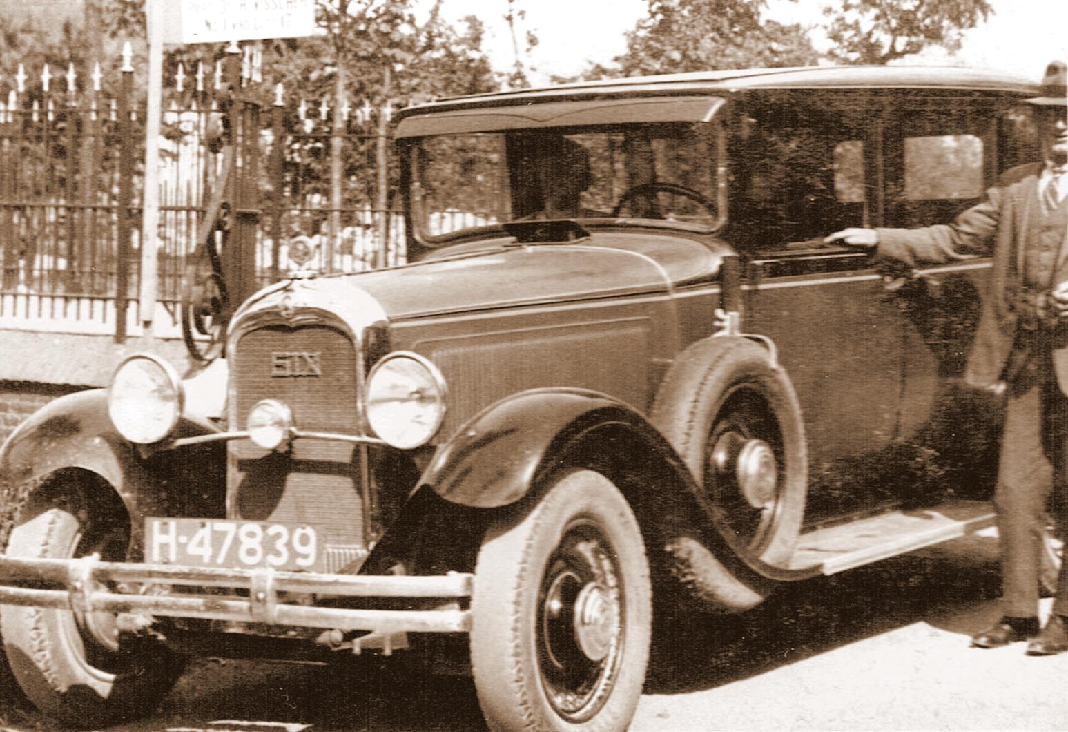 Dodge-Six‐taxi-