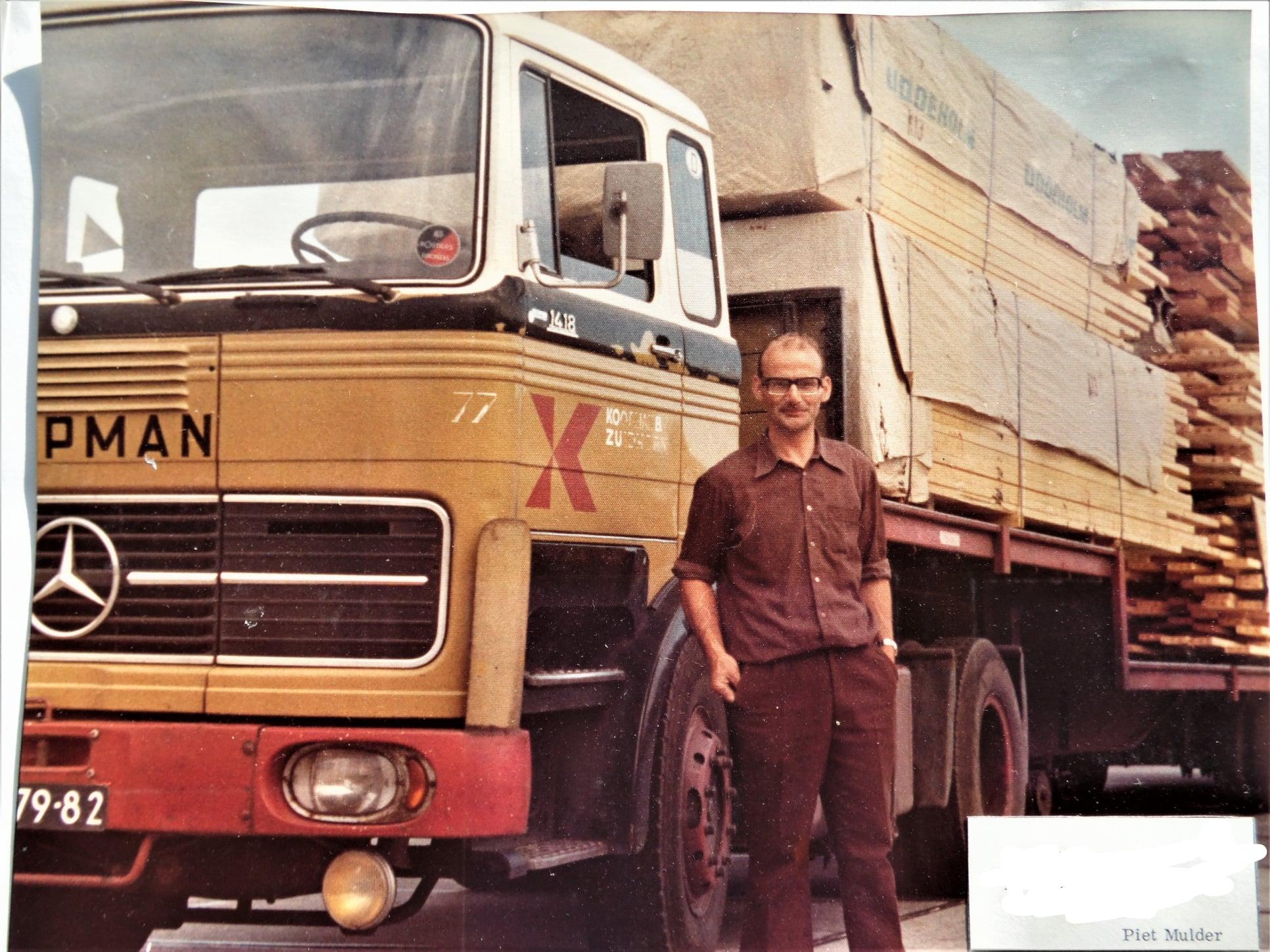 Chauffeur--Piet-Mulder--archief-zoon-Harm-