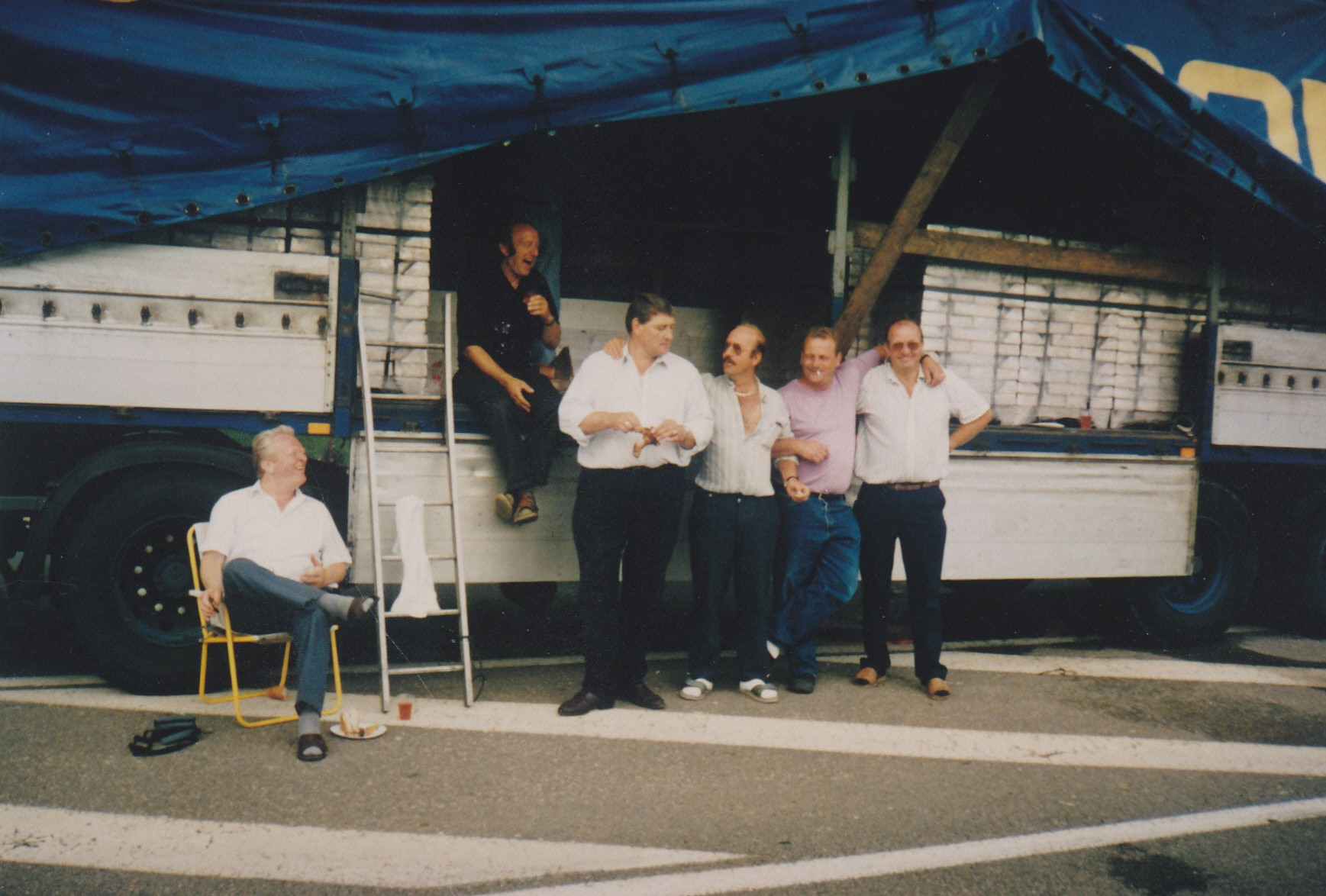 Veroni-Otto-Franken--tijdens-de-Staking-Tournus-Frankrijk-1992-