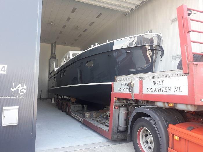 Scania-Boottransport-ABIM-Yachting-12076-Van-Jachtschilders-Alex-Bruintjes-Vollenhove-naar-Abim-Ossenzijl----17-7-2018-(1)
