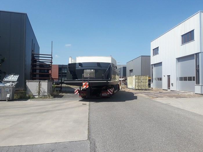 Scania-Boottransport-ABIM-Yachting-12076-Van-Jachtschilders-Alex-Bruintjes-Vollenhove-naar-Abim-Ossenzijl----17-7-2018-(2)