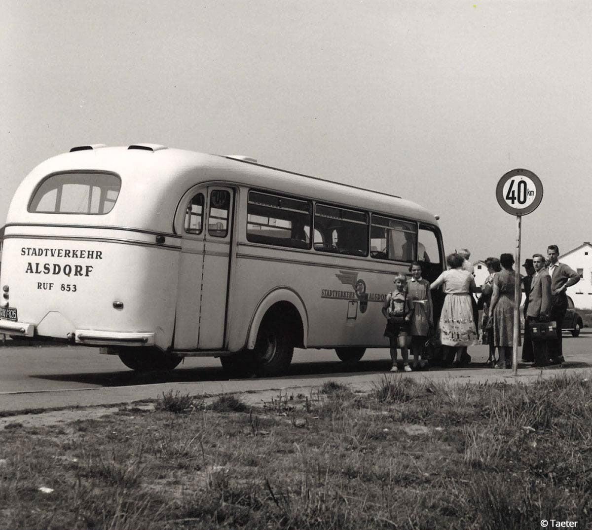 Stadsbus-van-Taeter--1952-in-die-regio-Bergbaustadt-Alsdorf-
