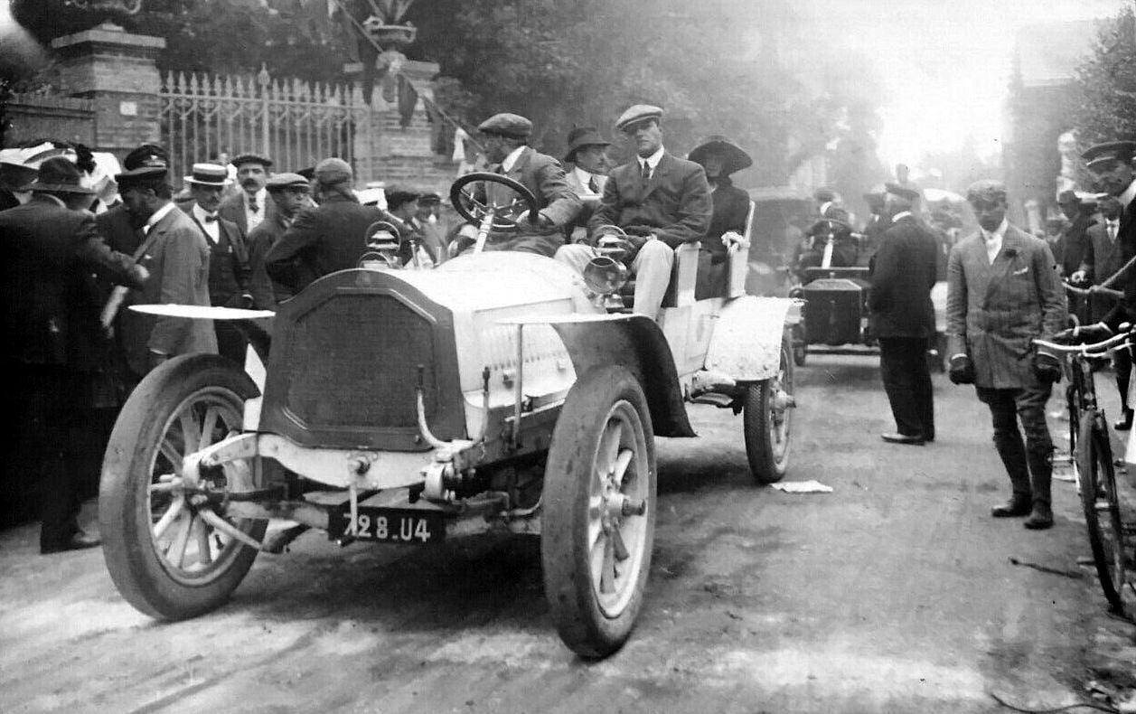 De-Dion-V8-1908-Race-C-ote-du-Calvaire--Trouville--Prins-Leon-Radziwill-