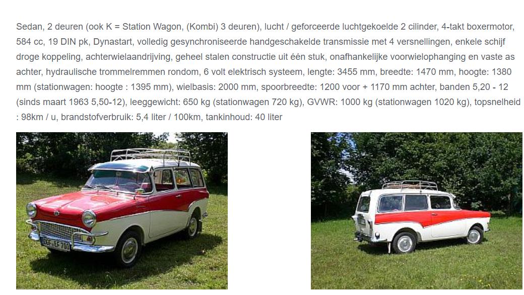 Glas-Sedan