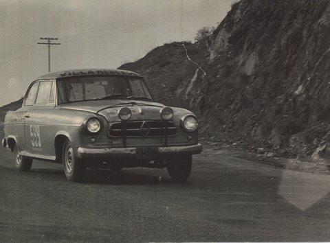 Borgward-Javier-s-car--X-GRAN-PREMIO-ACA--1967