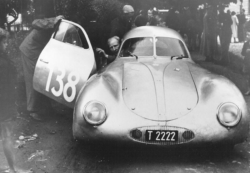 Porsche-car-nr-3-1949-Otto-Mathe-driver