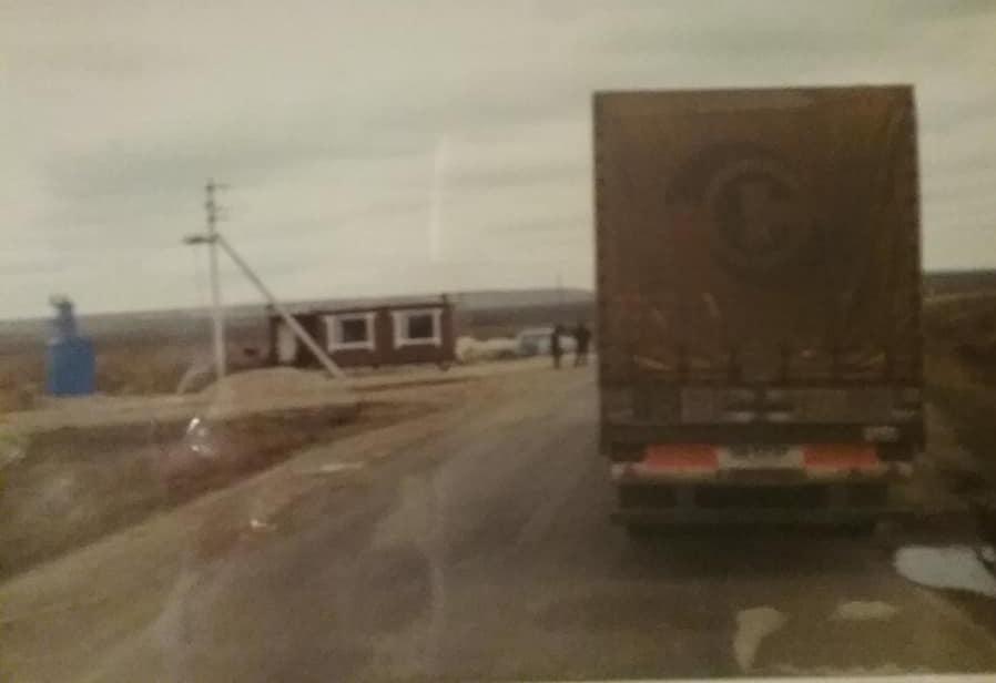 Theo-van-Gelderen---Politie-post-net-voor-Oral--Kazachstan--als-je-vanuit-Saratov-kwam--Voordat-je-rechtsaf-ging-naar-Atiray