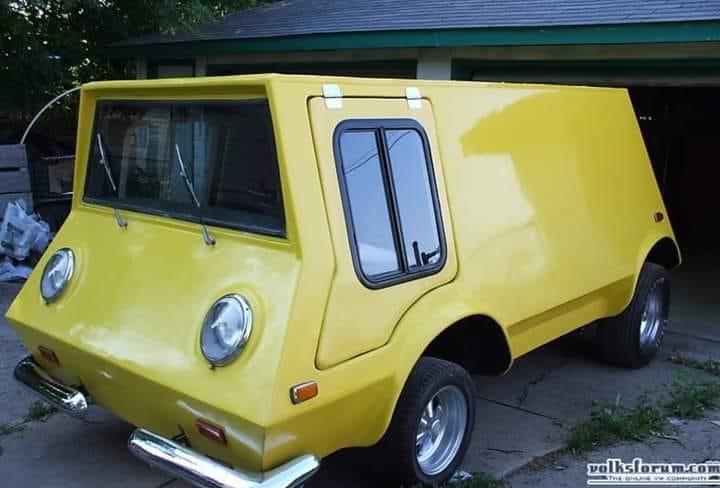 Volkswagen-Van-Boonie-Bug--1966--