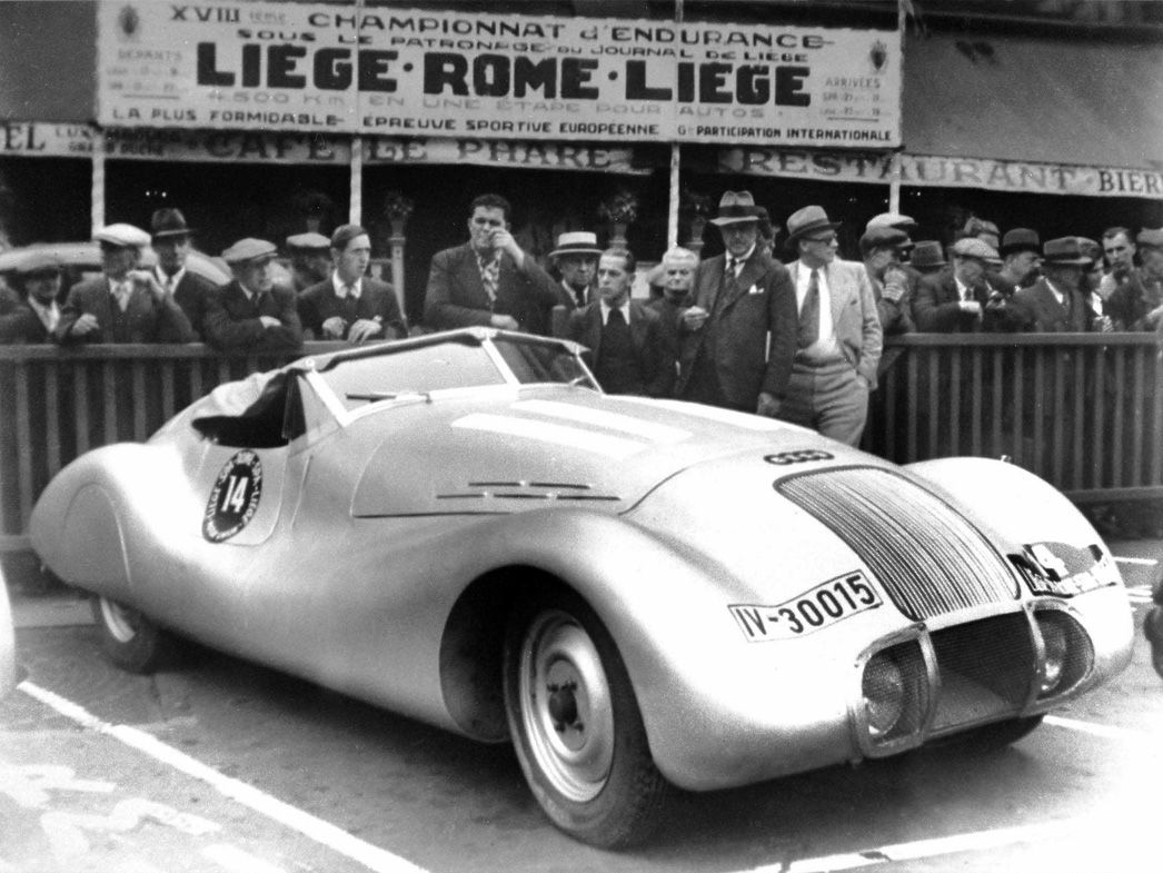 Wanderer-Racing-Car
