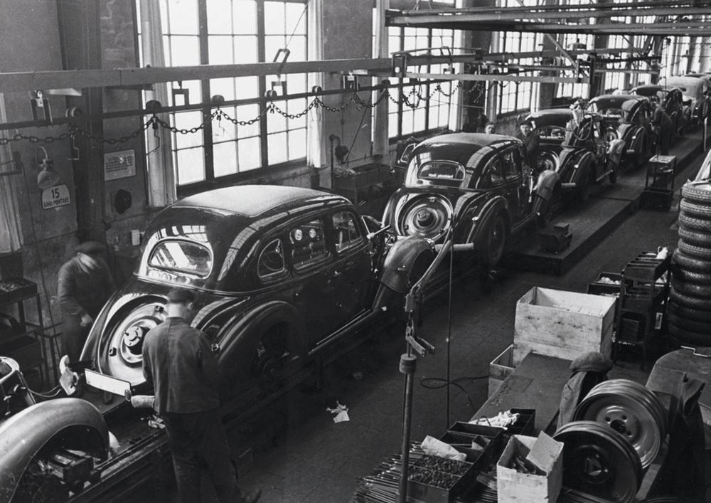 Wanderer-fabriek