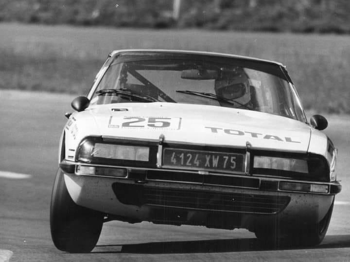 Citroen-SM-V6-Maseratie--24-hours-Francorchamps-1974--Guy-Chausseuil-Francois-Migault-
