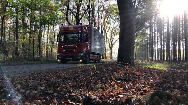 Scania-in-de-Herfst