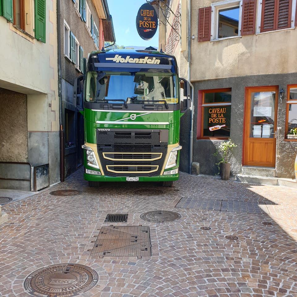 Volvo-in-de-binnenstad
