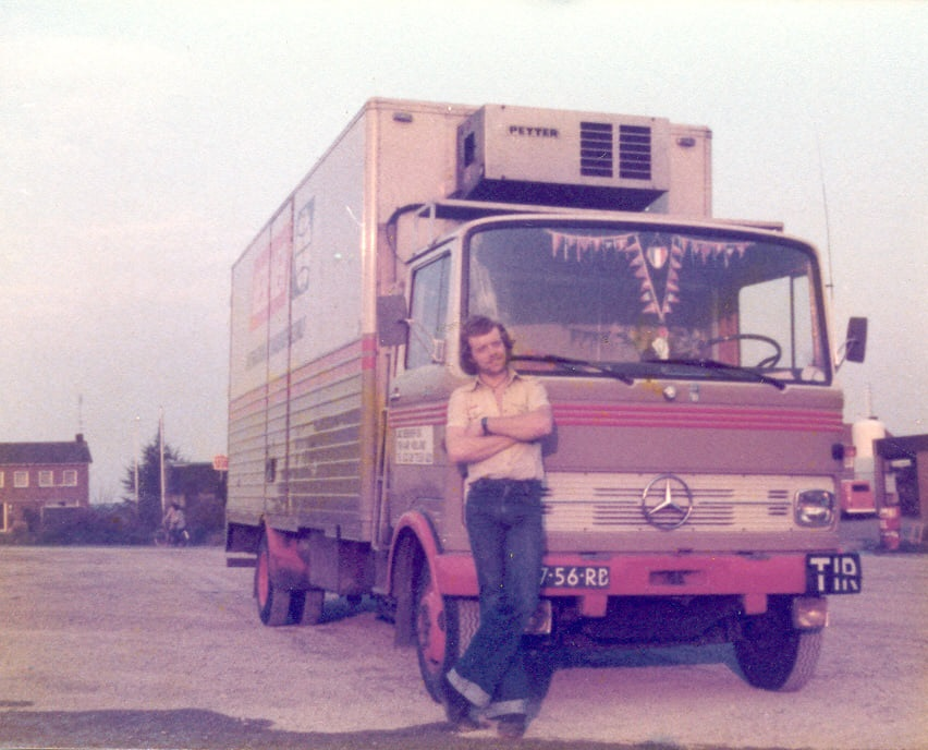 Mercedes-koelwagen-mini