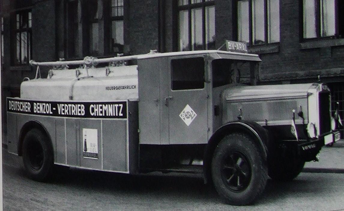 Vomag-tankwagen