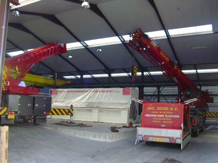 Machine-verplaatsing-spranco-belgie-buigbank