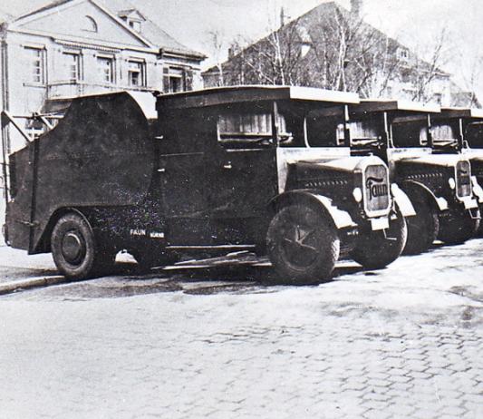 Faun-Trommelwagens