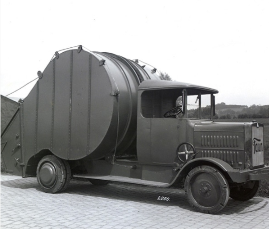 Faun-trommelwagen