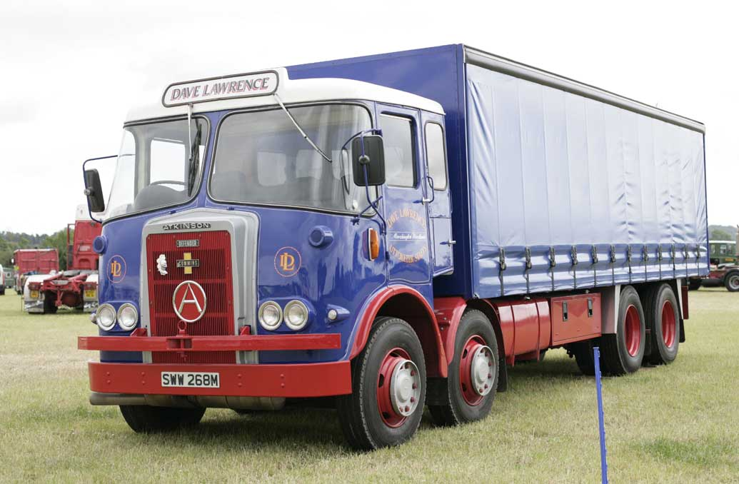 Atkinston-Dave_Lawrence_1973-curtainside_truck,_2008_Kelsall_Steam_and_Vintage_Rally