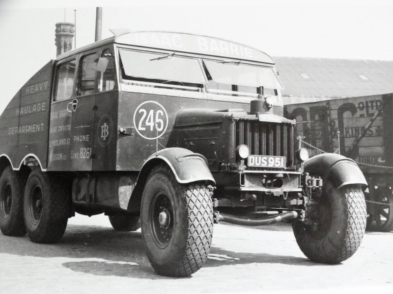 Scammell-6X4---DUS-951