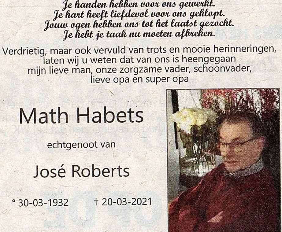 Math-Habets-RIP
