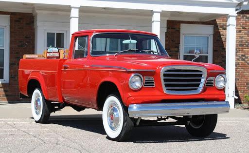 Studebaker--half-Truck