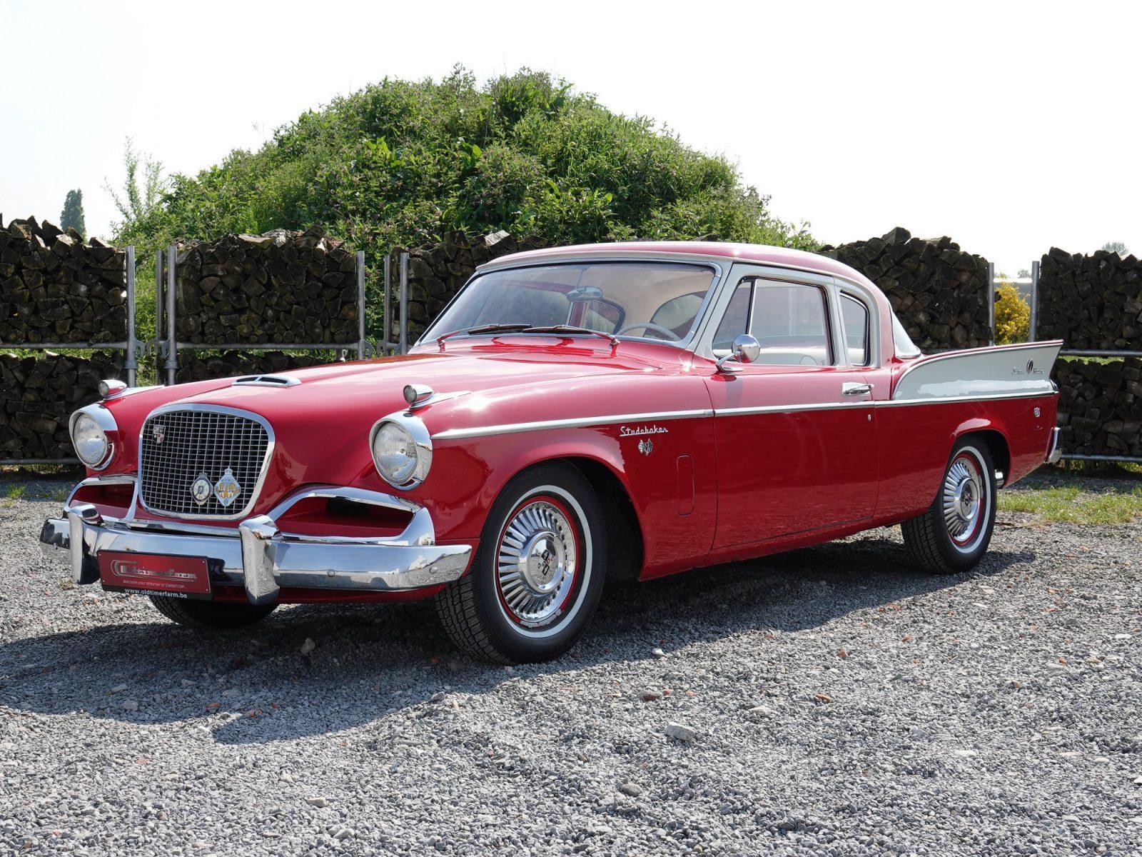 Studebaker-Silver-Hawk-Coup--1957