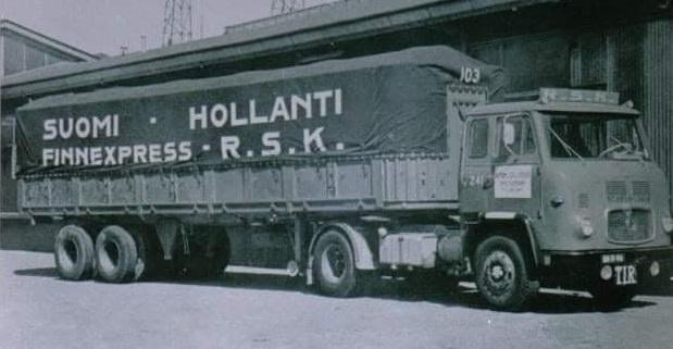Finland-Nederland-line