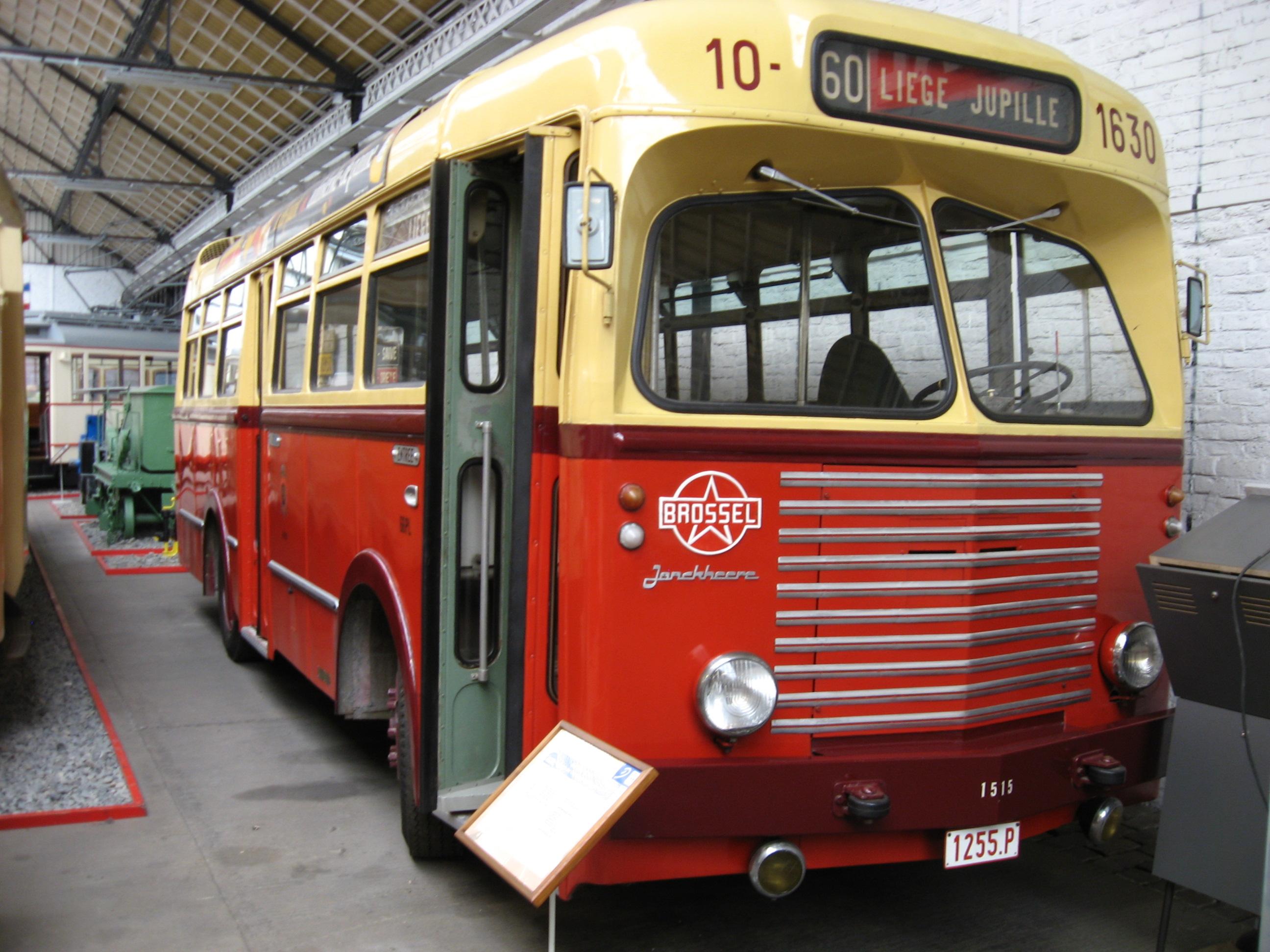 SNCV_bus_Jonckheere_Brossel_jaren_vijftig