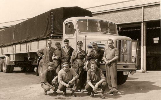 Automiesse-camion