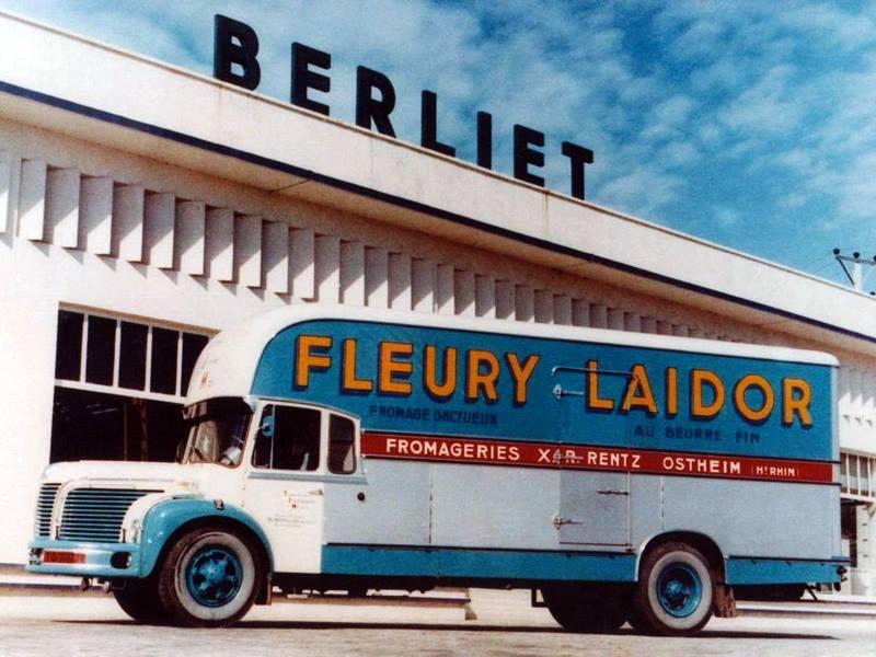 Berliet--Frigo-camion