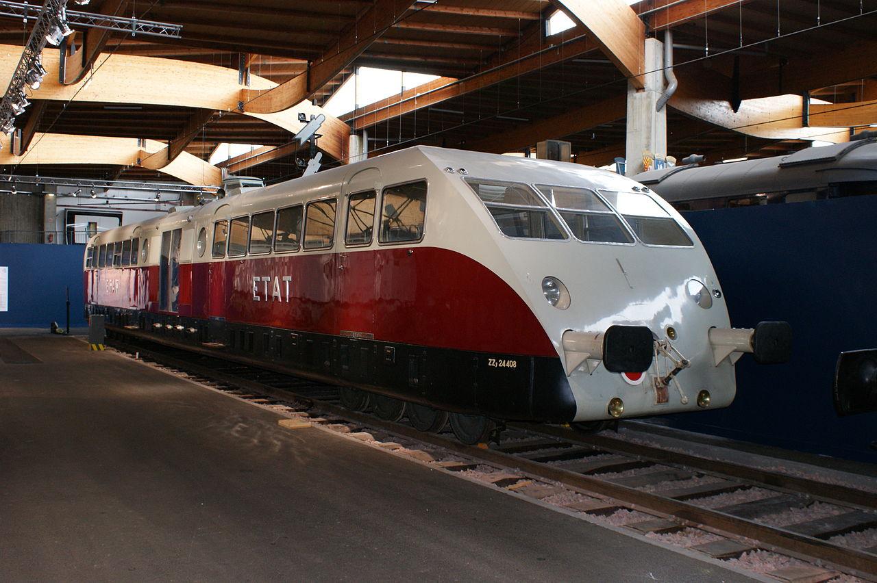 Bugatti-Train-Motorwagen