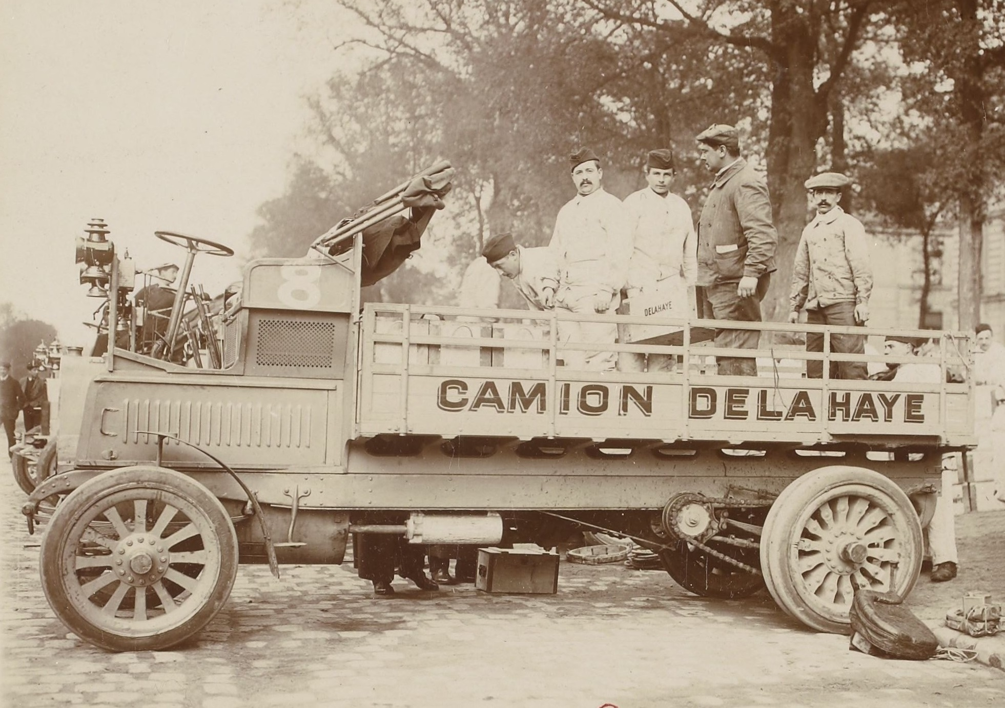 Camion_Delahaye_20CV_en_1910