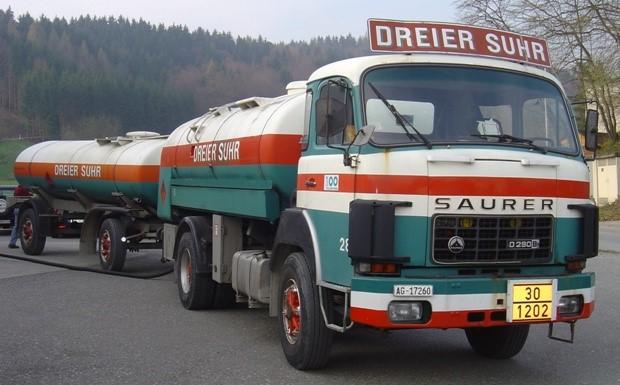 Saurer-Tankwagen